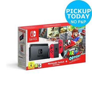 Nintendo Switch + Super Mario Odyssey £274.99 @ Argos ebay outlet