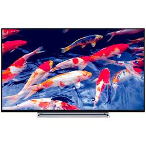 "Toshiba 49U6763DB LED 4K Ultra HD Smart TV, 49"" with Built-In Wi-Fi, Freeview HD & Freeview Play, Black £349 @ John Lewis"