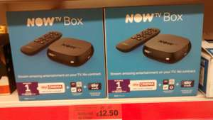 Now TV Box plus 1 month Sky Cinema Pass & Sky Store Credit @ Sainsburys in store