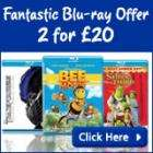 2 for £20 on Blu-Ray - ASDA Entertainment 2 for £20 Delivered.