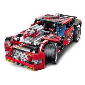 BEILEXING 2 in 1 Vehicle Style ABS Blocks 608pcs 21% off £23.48 @ GearBest