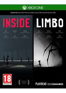Inside-Limbo Double Pack (Xbox One) now £13.99 delivered @ Base