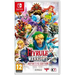 Hyrule Warriors Definitive Edition Nintendo Switch (Pre-order) - £37.99 In-store @ Smyths