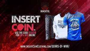 18% Off Online At Insert Coin Clothing Can Only Used Once Per Account. Enter ESSIC18 At The Checkout To Get 18% Off