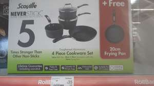 Pan set £35 instore @ Asda