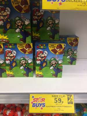Super Mario Easter Egg - £0.59 at Home Bargains