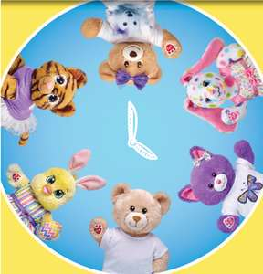 Furry Friends £8 plus £3.99 p&p @ Build a Bear today only
