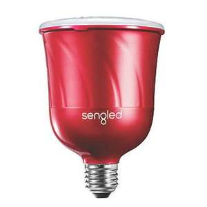 SENGLED C01-BR30EUMSC BLUETOOTH CONTROLLED LAMP KIT RED 13W 600LM 2 PIECE SET  £49.99 at Screwfix
