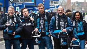 Get in to watch your favourite footy team for free via Matchday volunteering (includes Wembley Finals) at Prostate Cancer UK