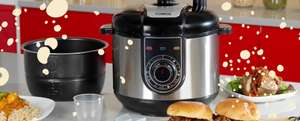 Tower 5 in 1 pressure cooker. £24.99 via *Amazon Treasure Truck* 55% off.