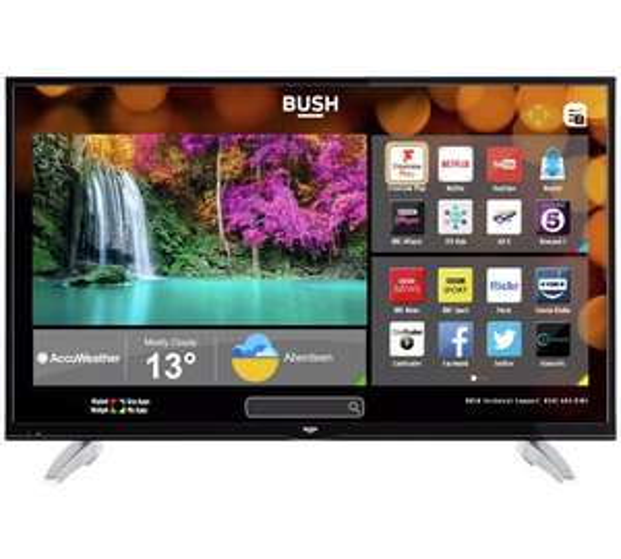 Bush 49inch 4K Ultra HD Smart TV 349.99- down from 449.99 - 2 year warranty at Argos