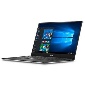 "Dell XPS 13 9360 Laptop, Intel Core i7, 8GB RAM, 256GB SSD, 13.3"", Full HD, Silver 3 yrs insurance £1034.95 at John Lewis"