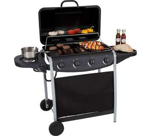4 Burner Propane Gas BBQ with Side Burner £124.99 at Argos