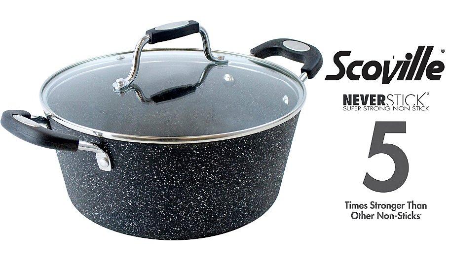 Scoville Neverstick 24cm Stock Pot £14 @ Asda
