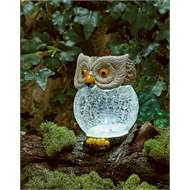 Crackle ball Solar Owl £7.99 C+C / instore @ Homebase