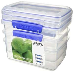 Half Price Sistema Containers. Tesco Instore only