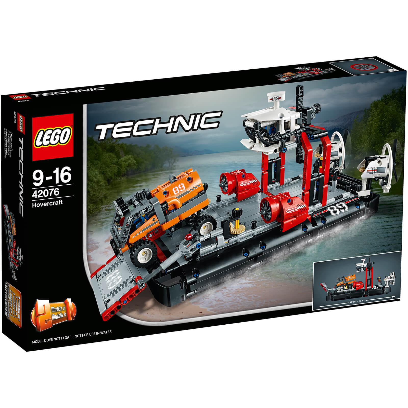 LEGO 42076 Technic Hovercraft £49.99 w/code @ IWOOT