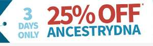 Ancestry DNA - 25% off, £59 + £9.99 postage