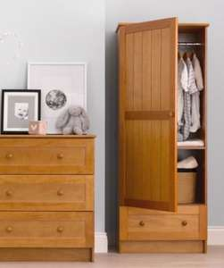 Darlington Wardrobe - Antique - £79 @ Mothercare (P&P £9.95)