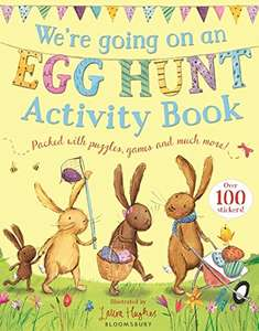 Easter activity book (with stickers!) for the little ones £2.99 (Prime) £5.98 (Non Prime) @ Amazon