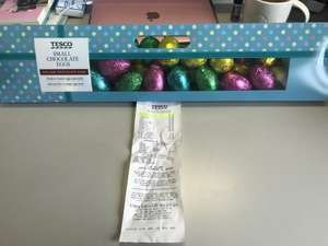 Small Chocolate Eggs x43 - £1 instore @ Tesco (Hatfield)