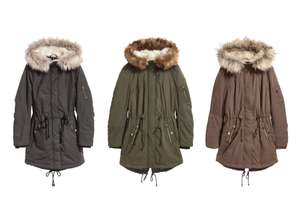 Padded Parka for £13.49 delivered using H&M Rewards @ H&M