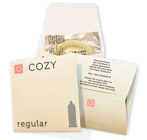 Free 3x Cozy Condoms