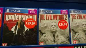 Wolfenstein 2 (PS4) - £19.99 instore @ GAME