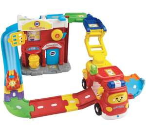 VTech Toot-Toot Drivers Fire Station Deluxe. 1/2 price @ Argos. Now £14.99