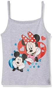 Disney Minnie Mouse Girl's Min-5421 Vest Top (Age 8 years) - £2.75 @ amazon add on item minimum 20 pound spend applies