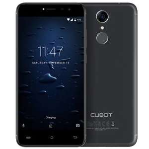 Cubot Note Plus 4G Smartphone - BLACK - £88.06 @ GearBest