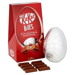 Nestle KitKat Bites Insider Easter Egg, 245 g, Pack of 4 - £10 (Prime) £14.75 (Non Prime) @ Amazon