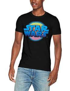 Star Wars Men's Logo Neon Death T-Shirt in XL - £3.15 @ amazon add on item minimum 20 pound spend applies