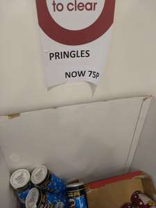 Pringles 75p Wilko Tunbridge Wells + two cans = free movie