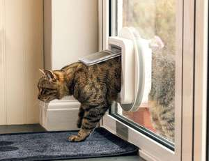 Sureflap Microchip Cat Flap Amazon DotD - £42.76