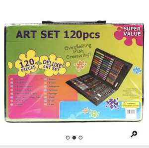 120pc art set - £6 @ Hobbycraft (C&C)