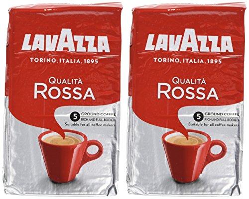 Lavazza Qualita Rossa Roast and Ground Coffee 500 g (Pack of 2) @ Amazon - £8.60 Prime / £13.35 non-Prime