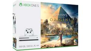 Xbox One S 1TB + Extra Controller + Assassin's Creed Origins + Rainbow Six Siege £159.90 @ Microsoft Store Portugal (Via Gamesdeal)