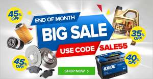 eurocarparts - End of month sale upto 45% off