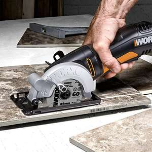 WORX WX423 85mm 400W Compact Circular for £40.68 sold by Amazon.