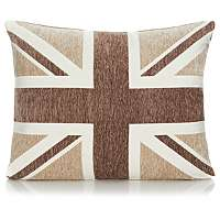 Union Jack cushion - natural £4.50 was £9 @Asda