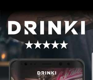 FREE Cocktails in London + Manchester via Drinki App