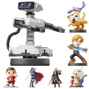Super Smash Brothers Amiibo £4.99 @ Amazon (+ £1.99 P&P for non-prime)