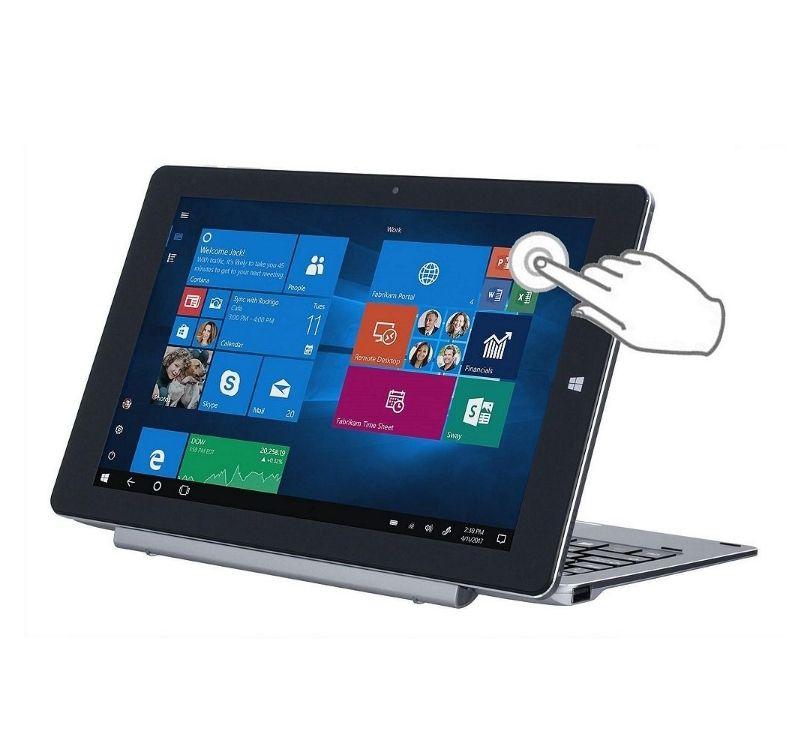Gemini TC10 10.1 FHD IPS Touch Intel Atom 4GB RAM 64GB Win10 Home Aluminium Detachable 2-in-1 Laptop,TC10V1002 at Tesco (sold by Box) for £199