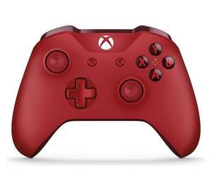 Official Xbox One Wireless Controller 3.5mm - Red/Blue/White/Black - now £39.99 @ Argos ( Free £5 voucher online or in store - via Vouchercodes)