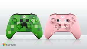Xbox One Minecraft Pig Controller (Pink) / Creeper Controller (Green) - £41.99 @ Argos (Free £5 voucher online or in store purchase via Vouchercodes)