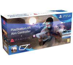 PS4 VR Aim Controller with Farpoint PS4 VR Game £44.99 @ Argos