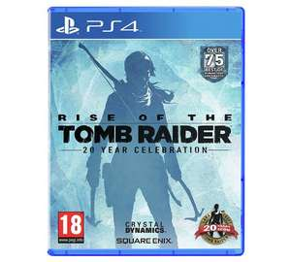 Tomb Raider 20th Anniversary PS4 @ argos for £15.99