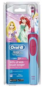 Oral-B Stages Power Kids Electric Toothbrush, Disney Princesses at Amazon for £13 (Prime Exclusive)