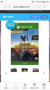 PlayerUnknown's Battlegrounds Xbox One at CDKeys for £15.99